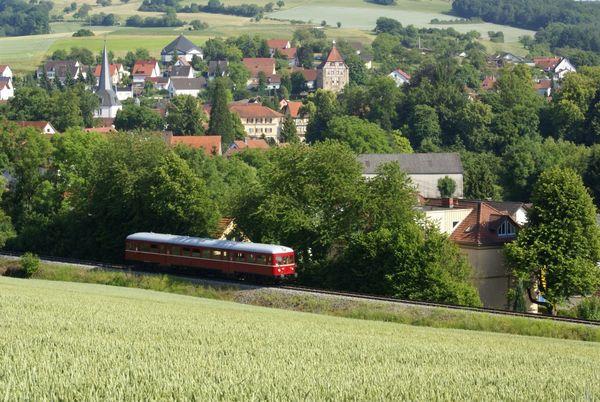 Unterwegs mit der Krebsbachtalbahn