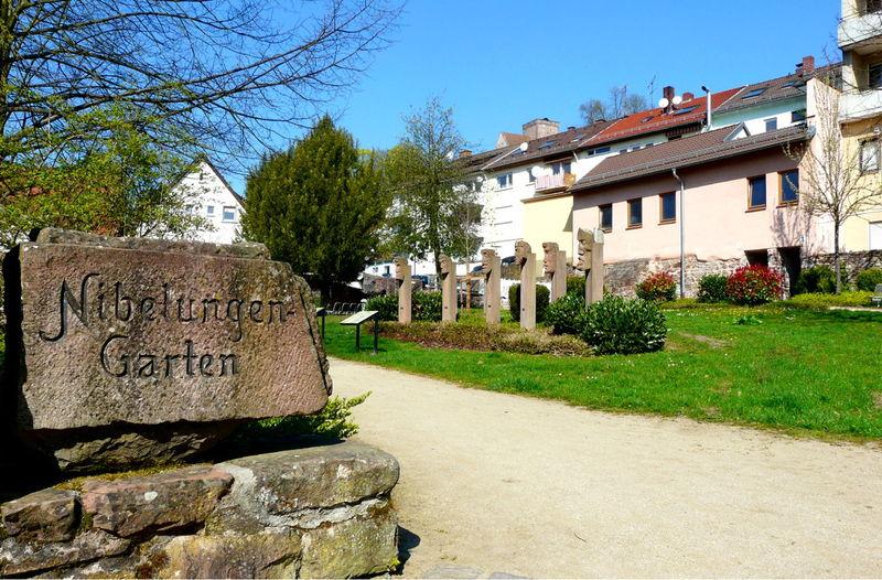 Nibelungengarten Neckarsteinach