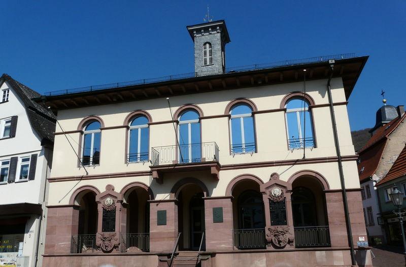 Rathaus Neckarsteinach