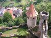 Burg Neidenstein von oben