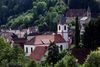 Blick auf Neidenstein und die ev. Kirche