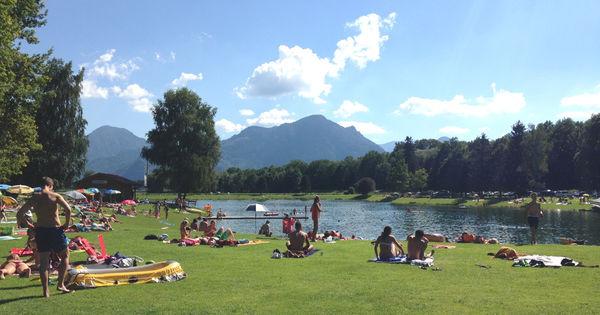 Neubeurer See im Sommer