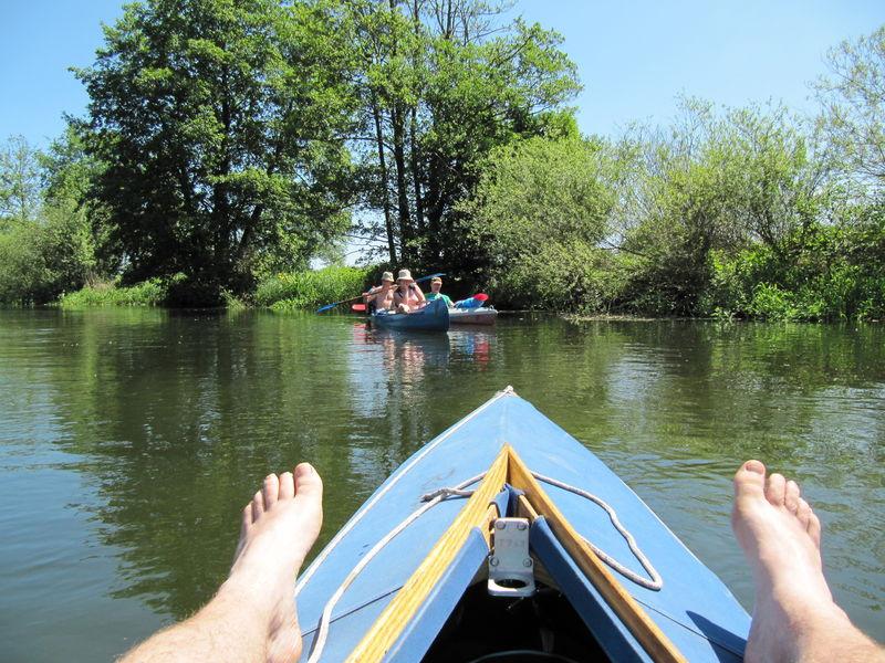 Kanutour vom Neuendorfer See nach Trebatsch
