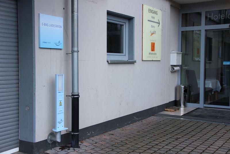 E-Bike Akku-Ladestation Hotel Wilhelmshöhe in Neuenrade