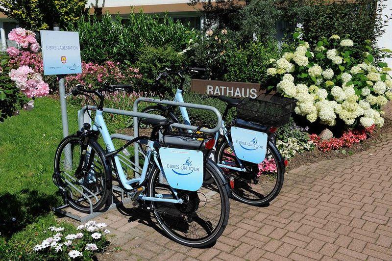E-Bike-Ladestation Rathaus in Neuenrade
