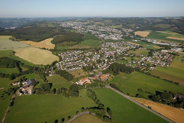 Luftbild von Neuenrade