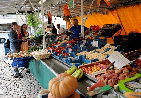 Wochenmarkt in Neuenrade