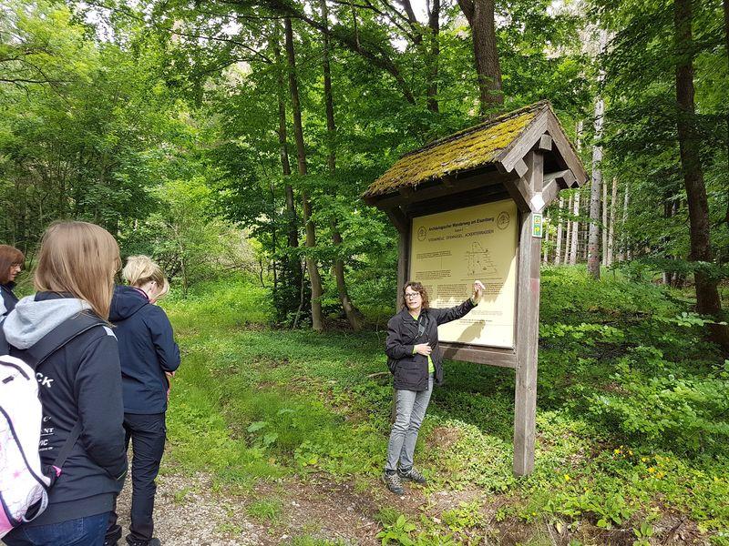 Archäologischer Wanderweg am Eisenberg