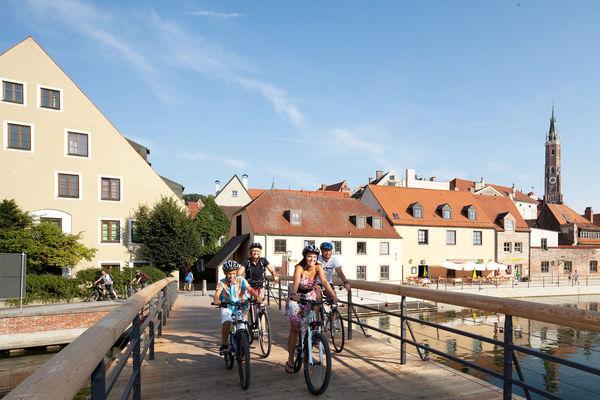 Nach Landshut mit dem Fahrrad - auf dem Isar-Laber-Radweg