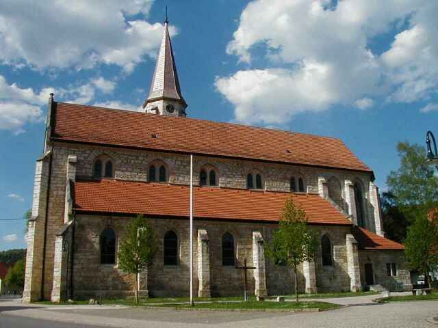 St. Mauritius-Kirche in Neufra