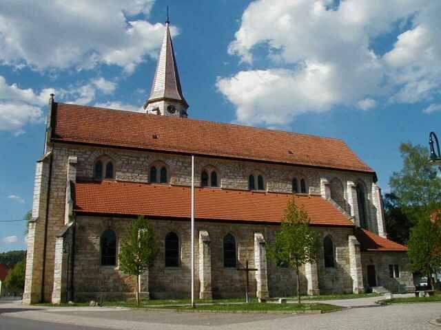 St. Mauritius-Kirche in Neufra