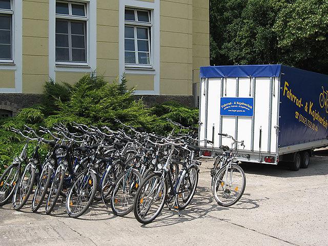 Fahrradverleih Neuhardenberg, Foto: Maik Gesche