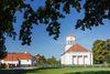 Schinkel-Kirche Neuhardenberg, Foto: Florian Läufer