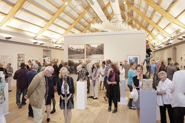 Ausstellung am Schloss Neuhardenberg, Foto: Markus Bachmann