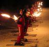 Fackellauf der Skischulen bei Dance on Snow am Hohenbogen