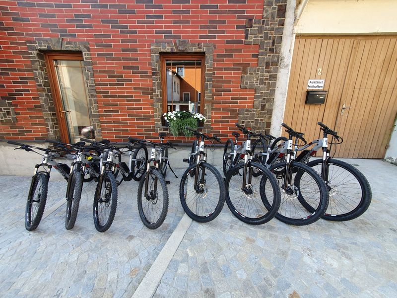 eBike-Verleih bei Hohenbogen-Bike