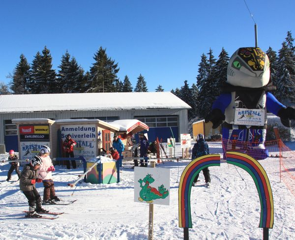 Skikarussell am Hohenbogen