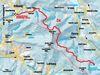 Streckenverlauf der Loipe zum Schwarzen See