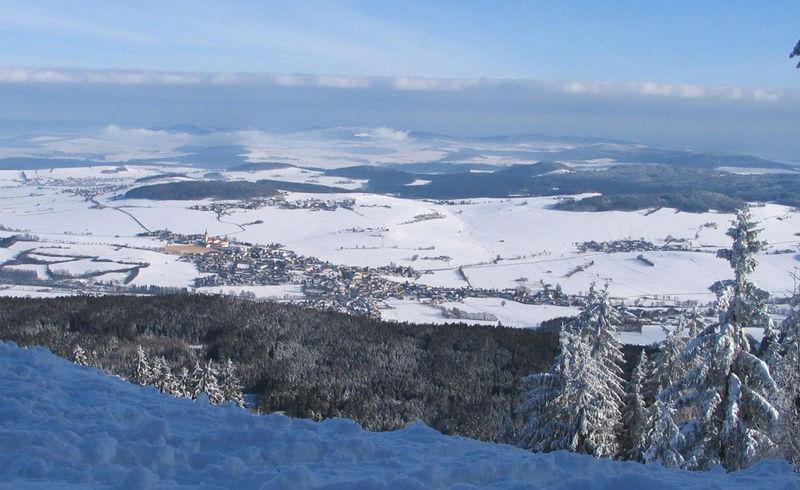 Schneeschuh-Tour zum Schönblick ab Höllhöhe