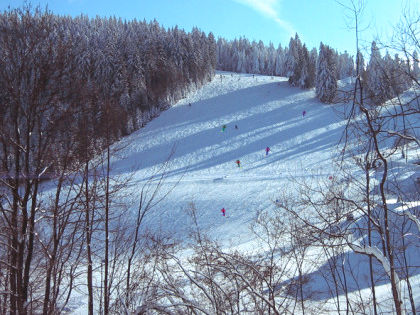 Skispaß pur beim Skilift Höllkreuz bei Neukirchen b. Hl. Blut