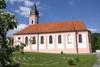 Seitenansicht der Pfarrkirche St. Martin in Neukirchen