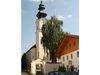 Die Pfarrkirche in Neukirchen vorm Wald im Bayerischen Wald