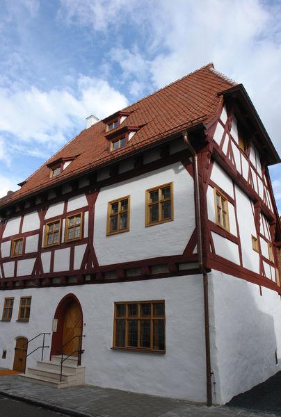 Das restaurierte Schreiberhaus in Neumarkt