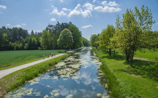 Natur pur am alten Industriedenkmal Ludwig-Donau-Main-Kanal