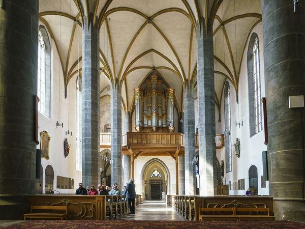 Das beeindruckende Innere des Münsters St. Johannes