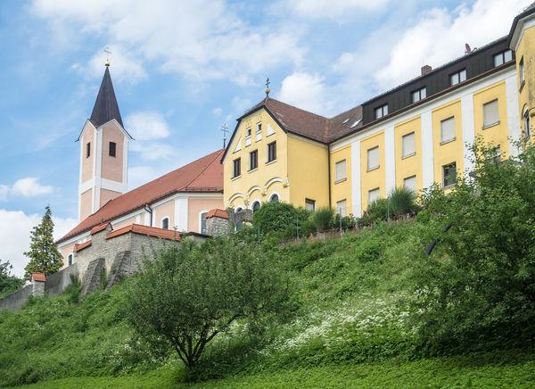 Das Kloster aus dem 18. Jahrhundert