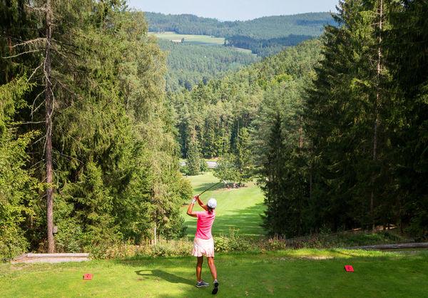 Toller Ausblick im Golf- und Landclub Oberpfälzer Wald e.V.