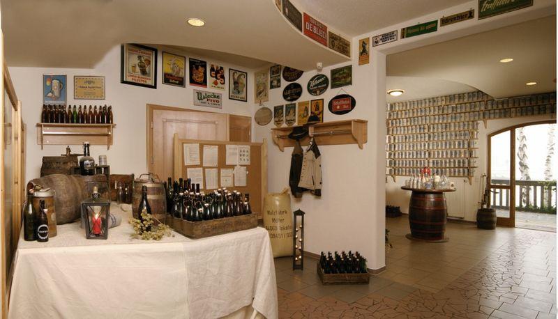 Alles dreht sich um das Bier im Brauerei-Kultur-Museum bei Neureichenau