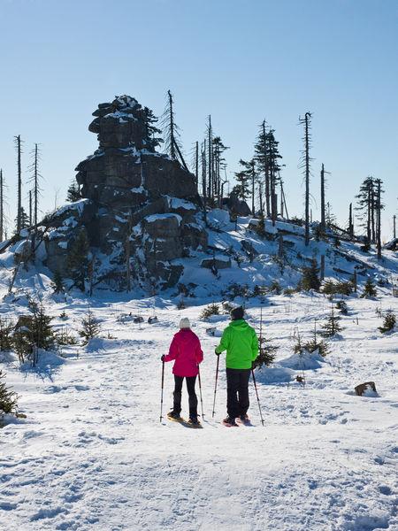 Schneeschuhwandern am Dreisessel