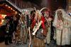 Furchterregende Masken bei der Rauhnacht in Altreichenau