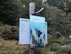Infotafel am Adalbert-Stifter-Literatur-Wanderweg bei Neureichenau