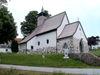 Die Filialkirche St. Maria im Wald im Bergdorf Waldhäuser