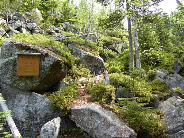 Das Teufelsloch im Nationalpark Bayerischer Wald