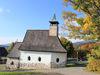 Herbststimmung bei der Kirche MARIA IM WALDE in Waldhäuser bei Neuschönau