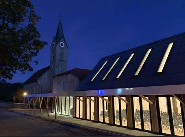 Lusentheater im Koishüttler Saal in Neuschönau