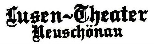 Logo des Lusentheaters Neuschönau