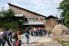 Blick auf das Besucherzentrum Hans-Eisenmann-Haus bei Neuschönau