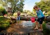 Kinderfest am Abenteuerspielplatz beim Naturbadeweiher in Neuschönau