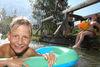Kinderspaß am Naturbadeweiher in Neuschönau