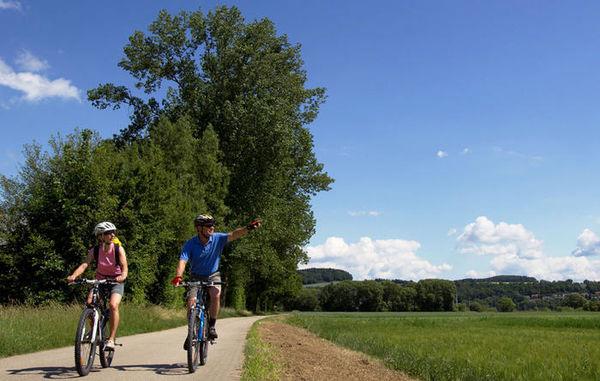 Paneuropa-Radweg bei Weiden