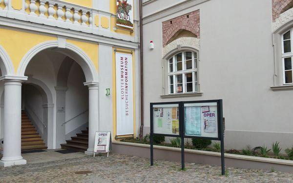 Besucherinformation Neuzelle, Foto: Gabriele Werner
