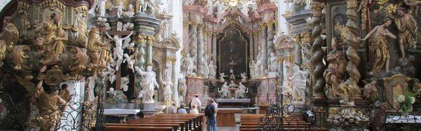 St. Marien Kirche von Kloster Neuzelle, Foto: TMB-Fotoarchiv/Heidi Walter