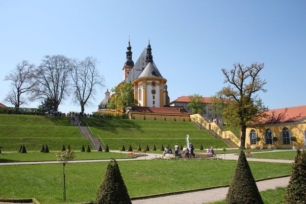 Kloster Neuzelle mit Barockgarten, Foto: Katrin Riegel