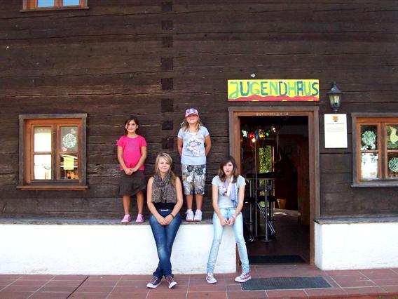 Eingang zum Jugendhaus Niederalteich