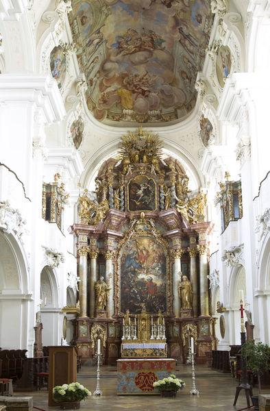 Hochaltar Basilika St. Mauritius zu Niederaltaich