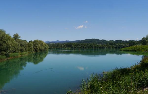 Der Luberweiher zwischen Deggendorf und Niederalteich